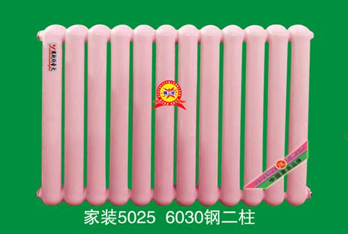家装钢二柱散热器