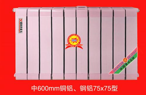 钢铝75x75散热器